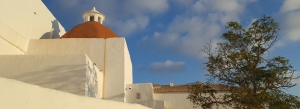 Church route in ibiza